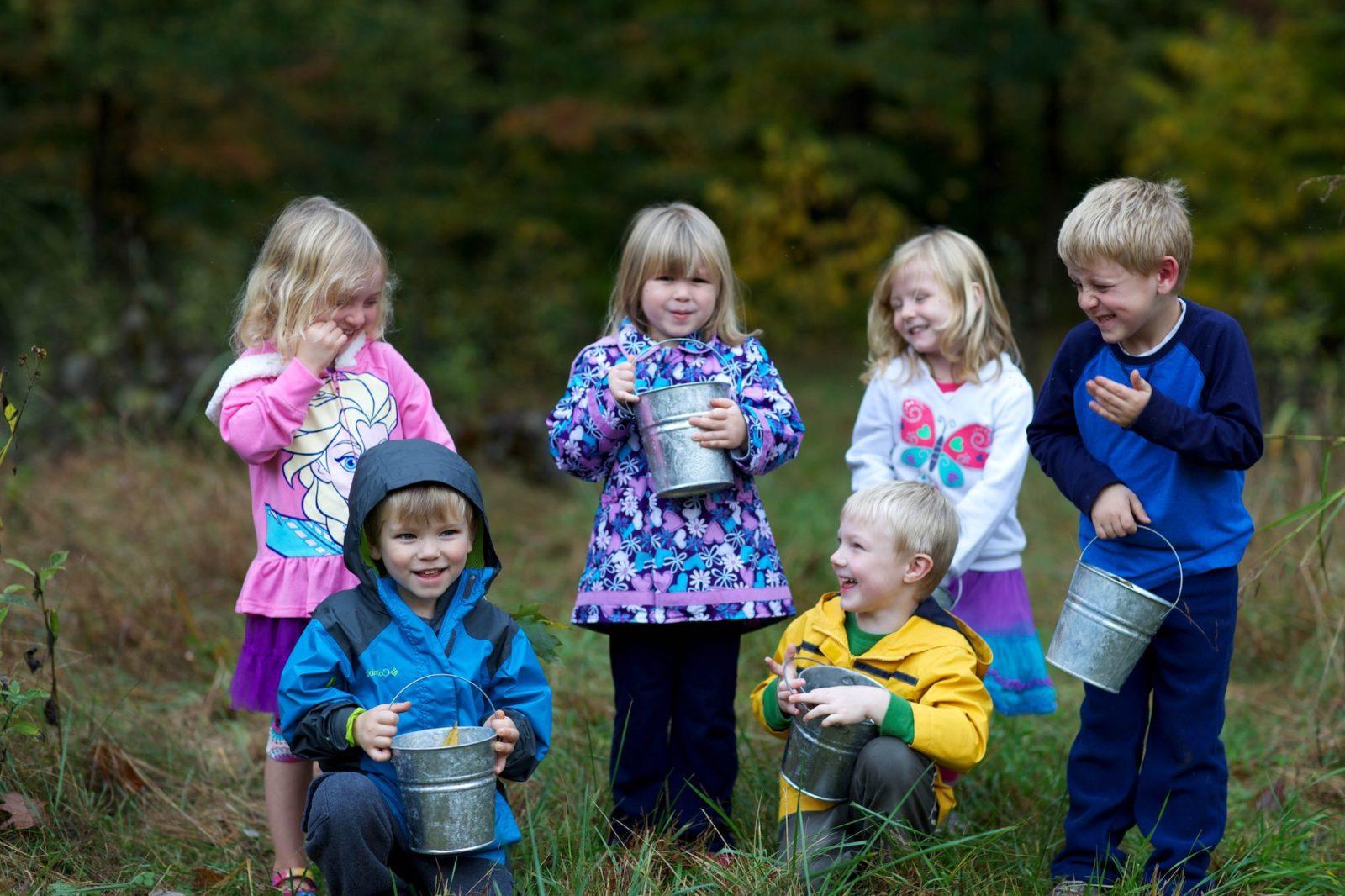 Moestuinieren met kinderen