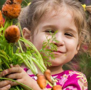 Met kinderen kun je het hele jaar de moestuin in en activiteiten doen.